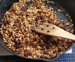 Weight Loss Recipes : Skillet Granola