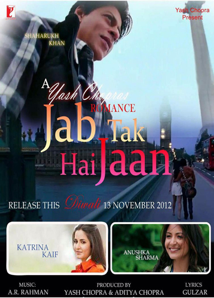 Download Film Jab Tak Hai Jaan Bluray 720p + Subtitle Gratis