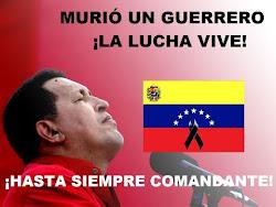 Presidente Hugo Chavez Frias ya es inmortal