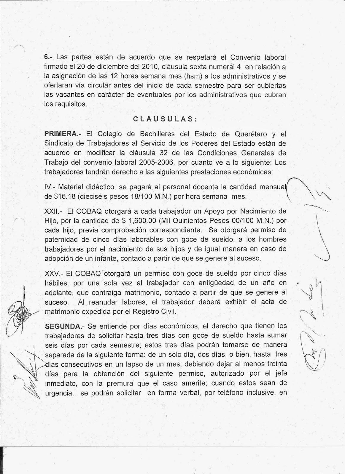 Colegio de bachilleres del estado de quer taro convenio for Convenio jardineria 2016
