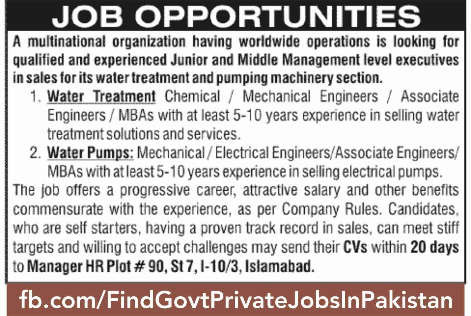 job opportunity jang