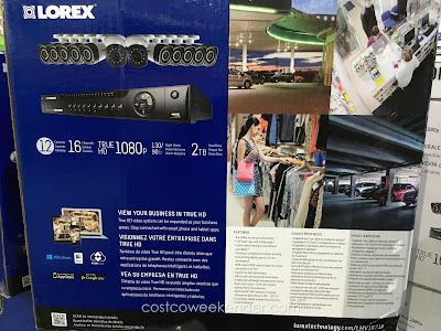 Keep an eye out with the Lorex LHV16212 Surveillance System