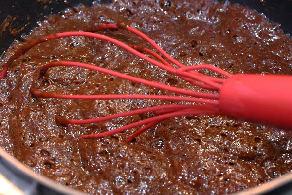 Whisking Chocolate