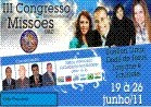 III Congresso Internacional de Missões Uad -19 á 26 Junho 2011