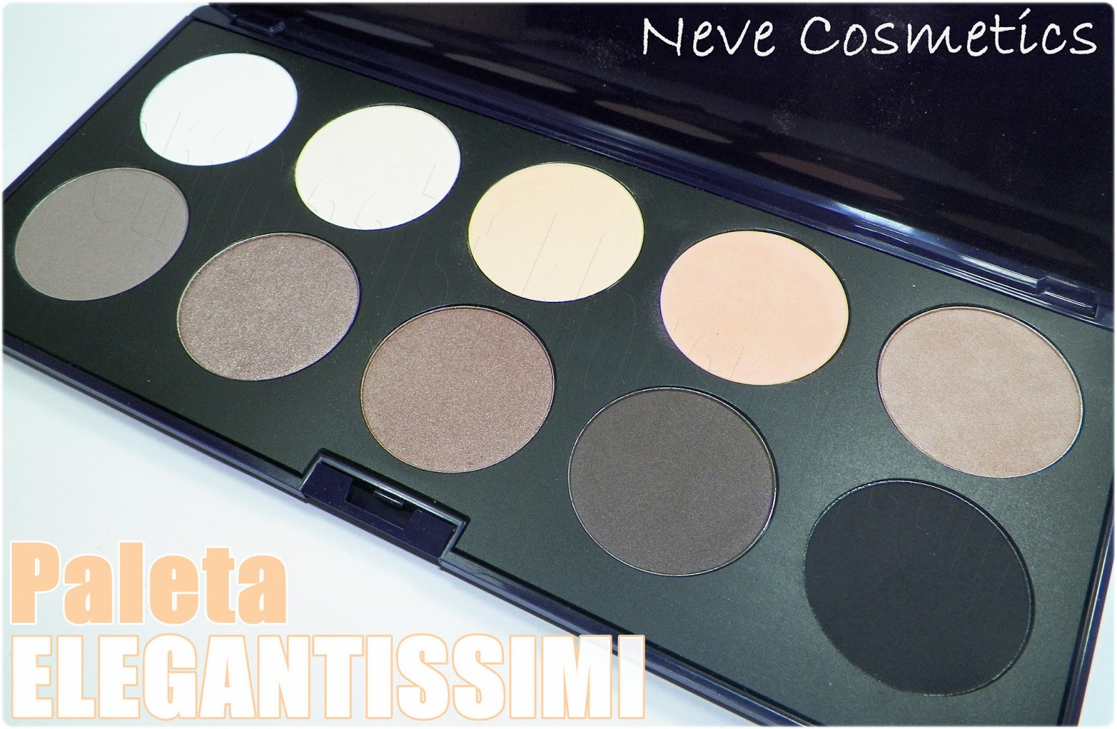 Emmaaist neve cosmetics paletas de sombras review - Paleta de colores neutros ...