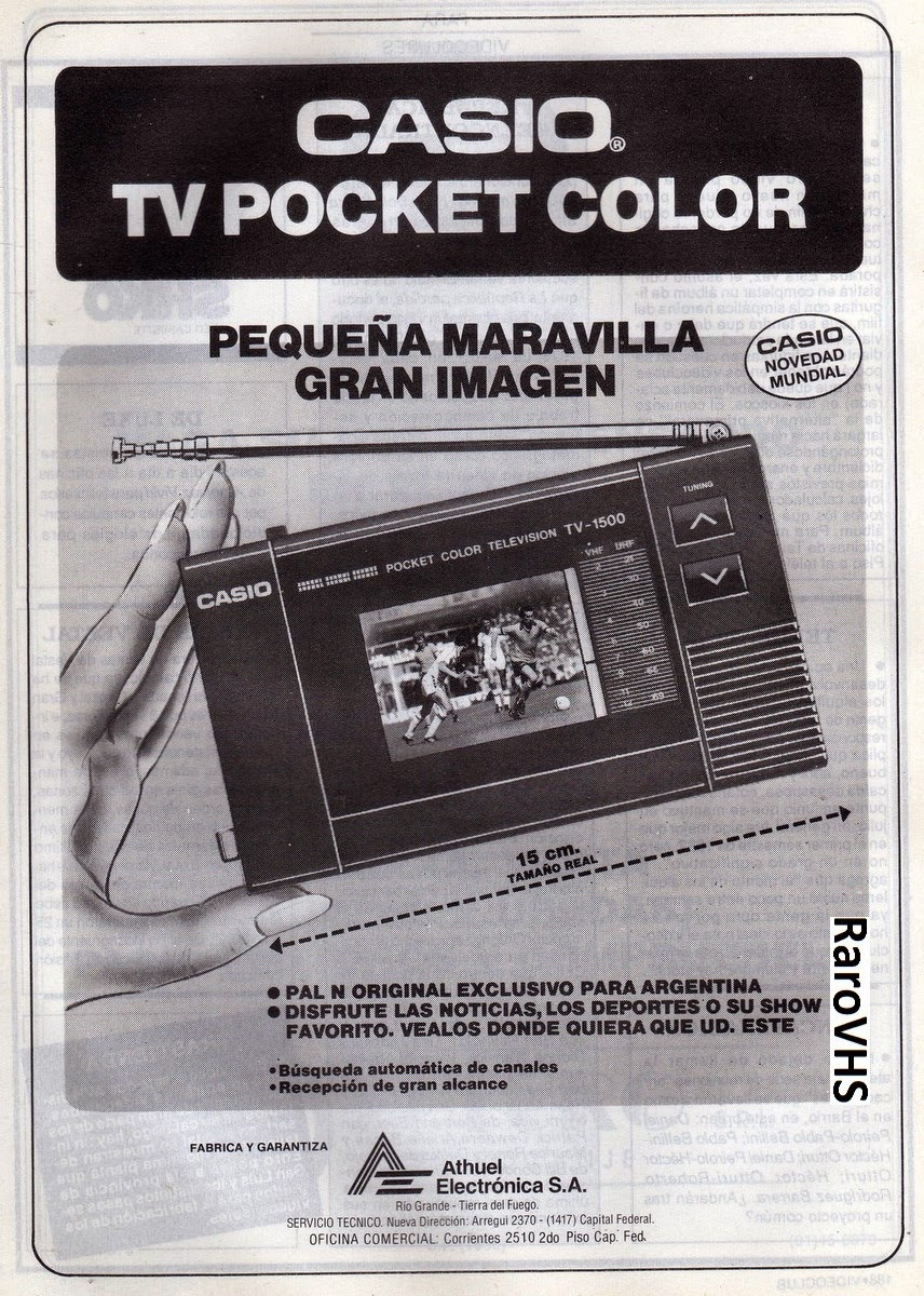 casio pocket tv color