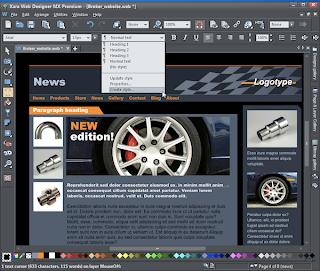 Xara Web Designer Premium 9.0.1.27404