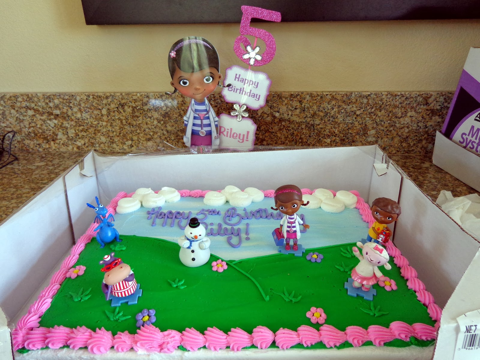 Doc Mcstuffins Cake Decorating Kit : DIY for Mommies: Doc McStuffins Birthday Party