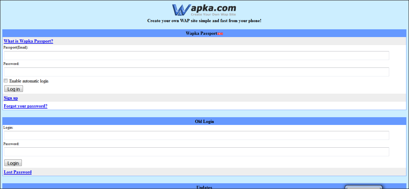 Mon premier blog download wapka mobi login code urtaz Gallery