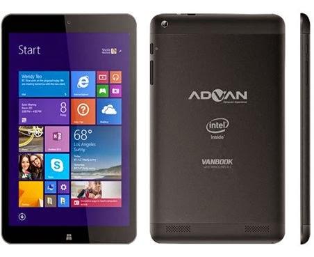 Advan Vanbook W80 Tablet Windows 81 Harga Dibawah 2 Juta
