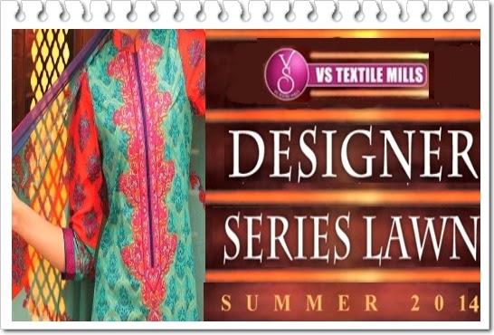 VSTextile Designer Lawn 2014