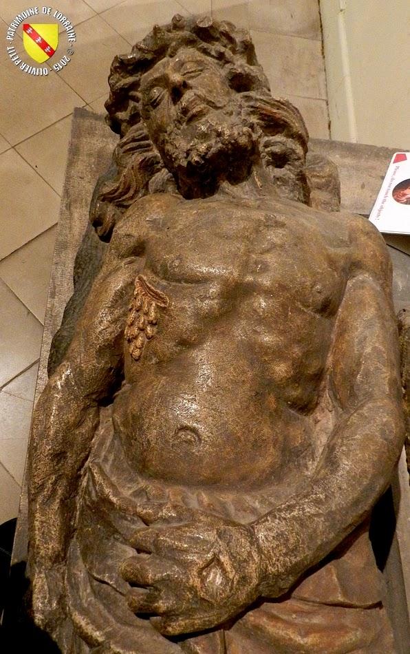 NANCY (54) - Musée Lorrain : La Vierge et le Christ (XVe siècle)