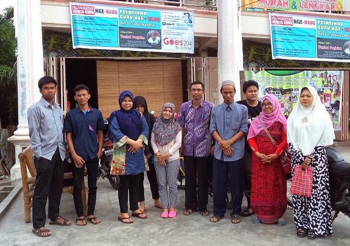 Pelatihan Nge-blog gratis Tanjungbalai sesi 2