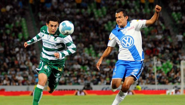 Puebla vs Santos en vivo