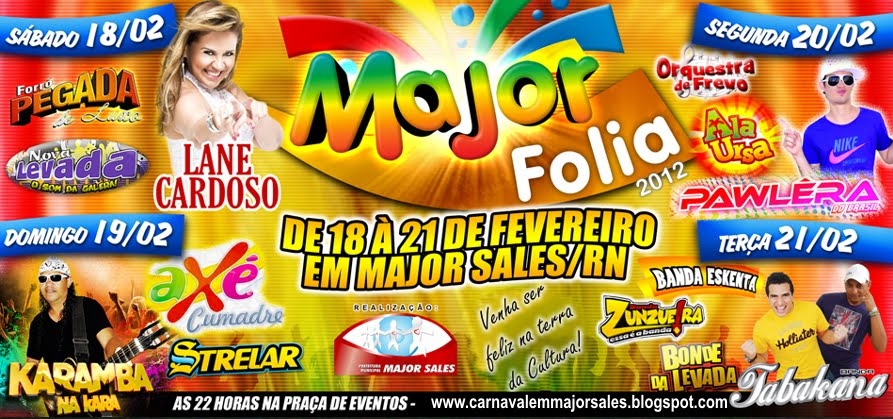 Carnaval em Major Sales