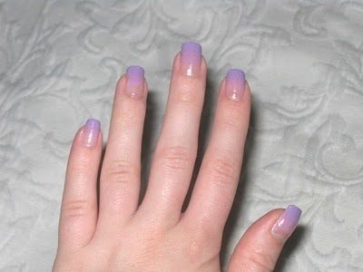 like candy floss short nails can be cute too