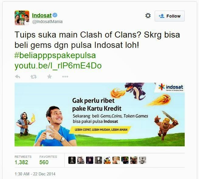tweet indosat