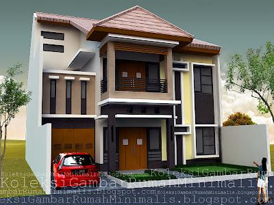 Contoh-Model-Rumah-Mewah-2-Lantai