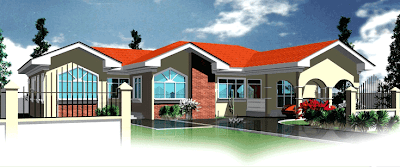 Ghana House Plan - Berma Design