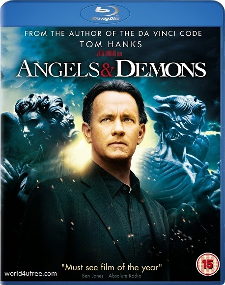 Angels & Demons 2009 BRRip Dual Audio Hindi Dubbed 350MB