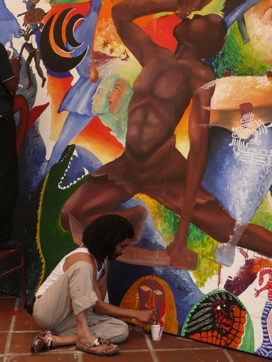 Africa a c afromexicanos libres la historia de un for Caracteristicas de un mural
