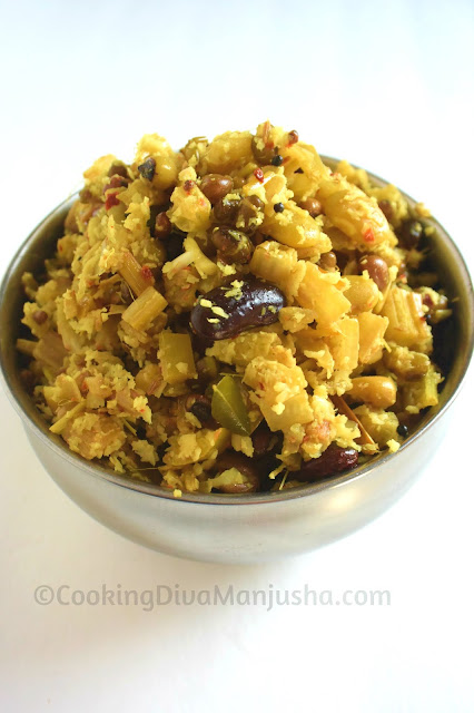 vazha-thandu-porial-thoran-recipe