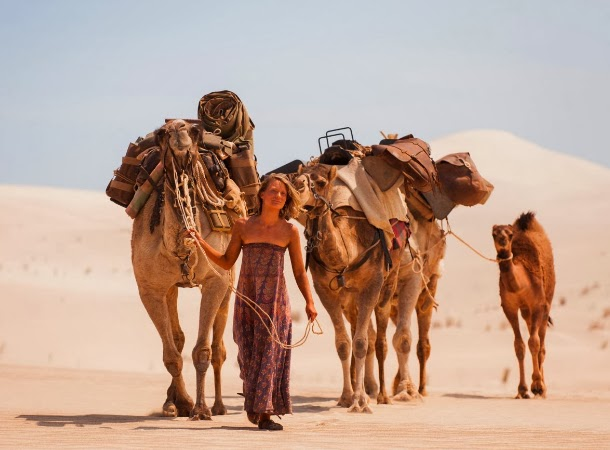 Mia Wasikowska as Robyn Davidson in Tracks