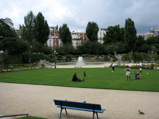 Square Saint-Lambert, 15e arrondissement,Paris