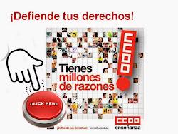 CCOOnecta con ENSEÑANZA Región de Murcia
