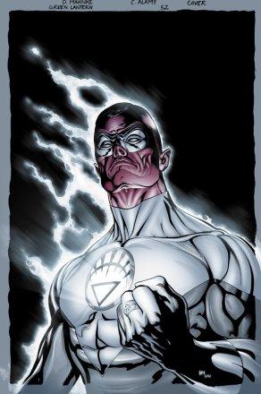 Per proteggersi, l'entità si fonde con la Lanterna verde rinnegata ...