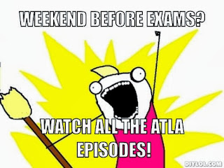Finals weekend. Study? No. Watch avatar? Yes please.
