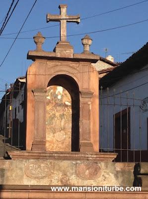 Saint Michael's Font in Pátzcuaro, Michoacán