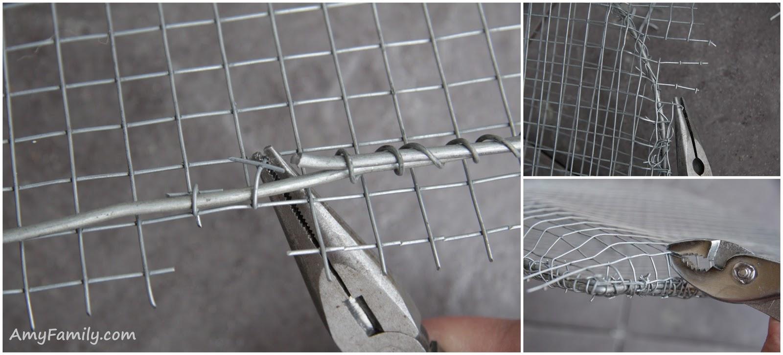 Сетка металлическая своими руками