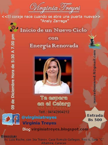 Virginia Treyes te Invita al CELARG 09/12/2015