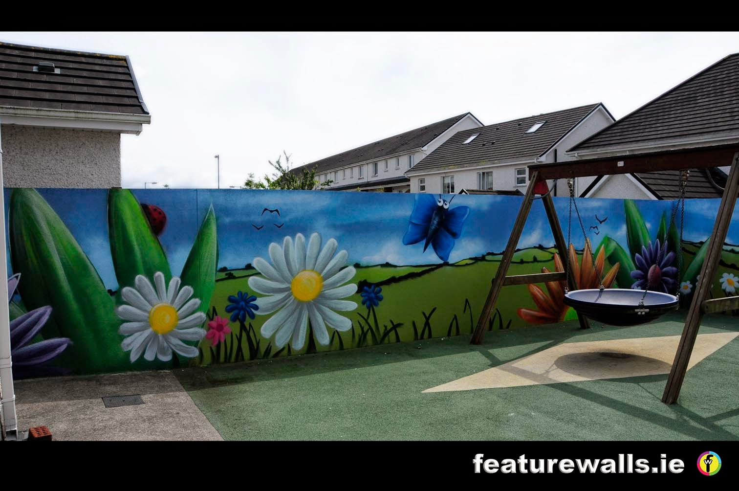 Mural painting professionals special for Mural for school