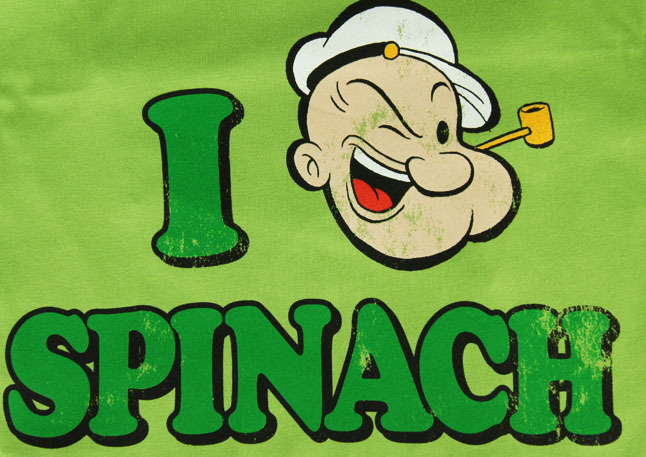 my muse popeye got it right eat spinach
