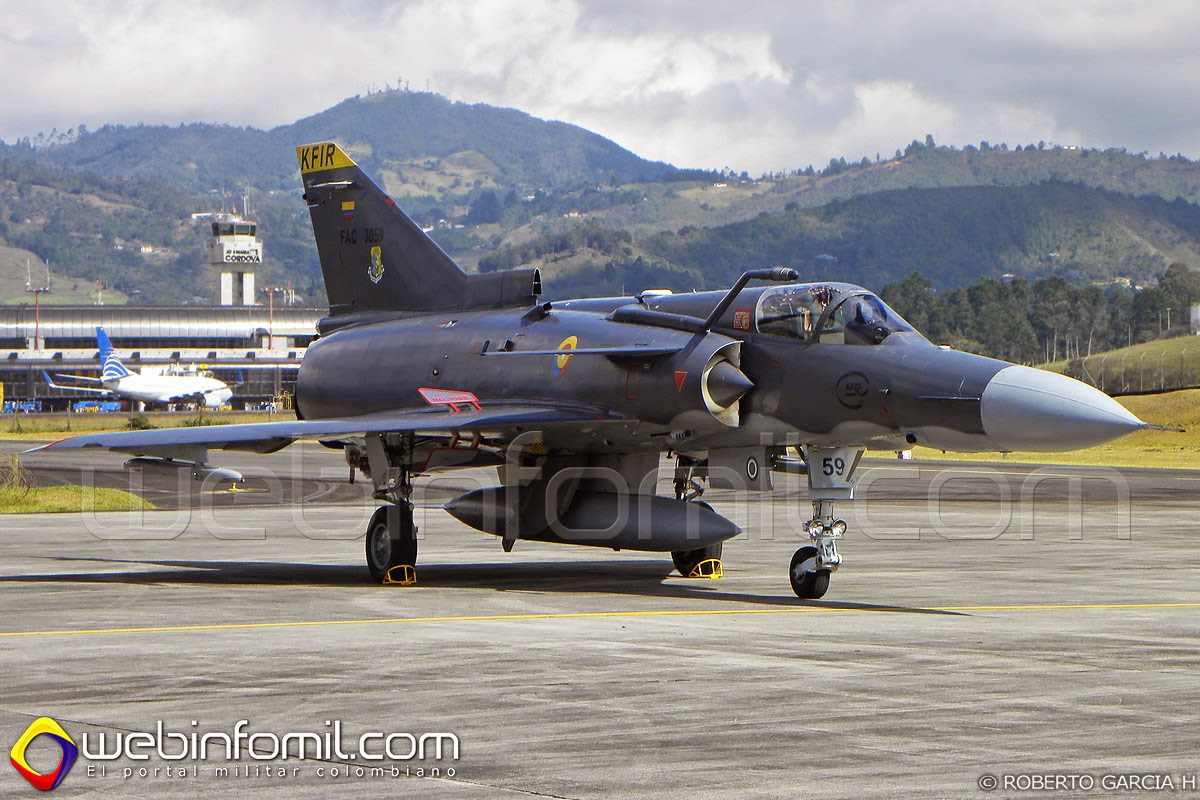 FAC3059 Colombian Air Force Kfir