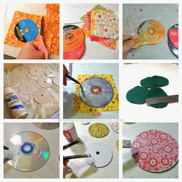 Riciclo Creativo CD e DVD