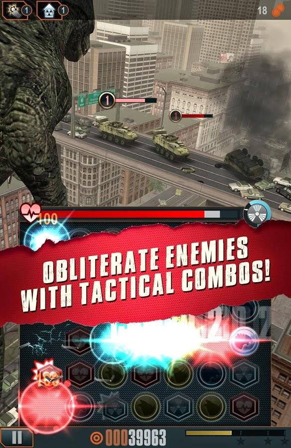 Godzilla Smash3 full apk