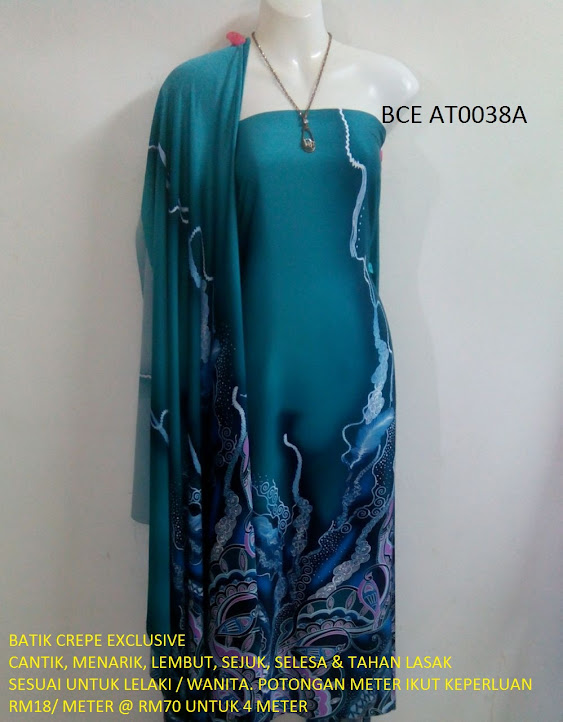 BCE AT0038A: BATIK CREPE EXCLUSIVE