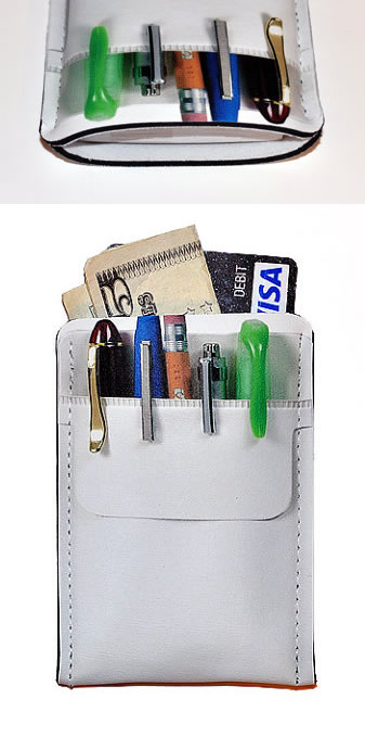 What to give a geek pocket protector businesscredit card holder pocket protector businesscredit card holder colourmoves