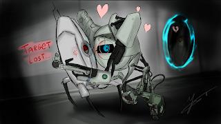 Valve Portal Love Digital Drawing Portal 2