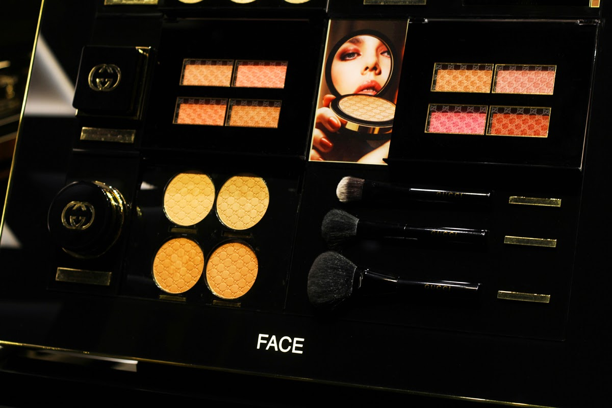 gucci make up line presentation