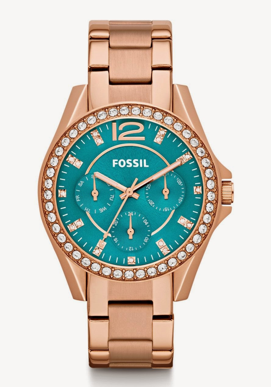 Fossil Watch in Rose gold