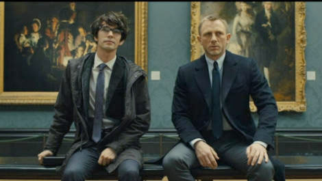 Skyfall Q Ben Whishaw & James Bond