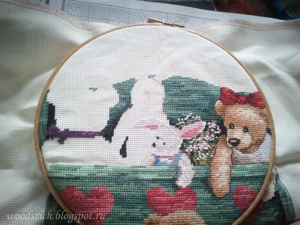 13684 animal shelf схема вышивки 30