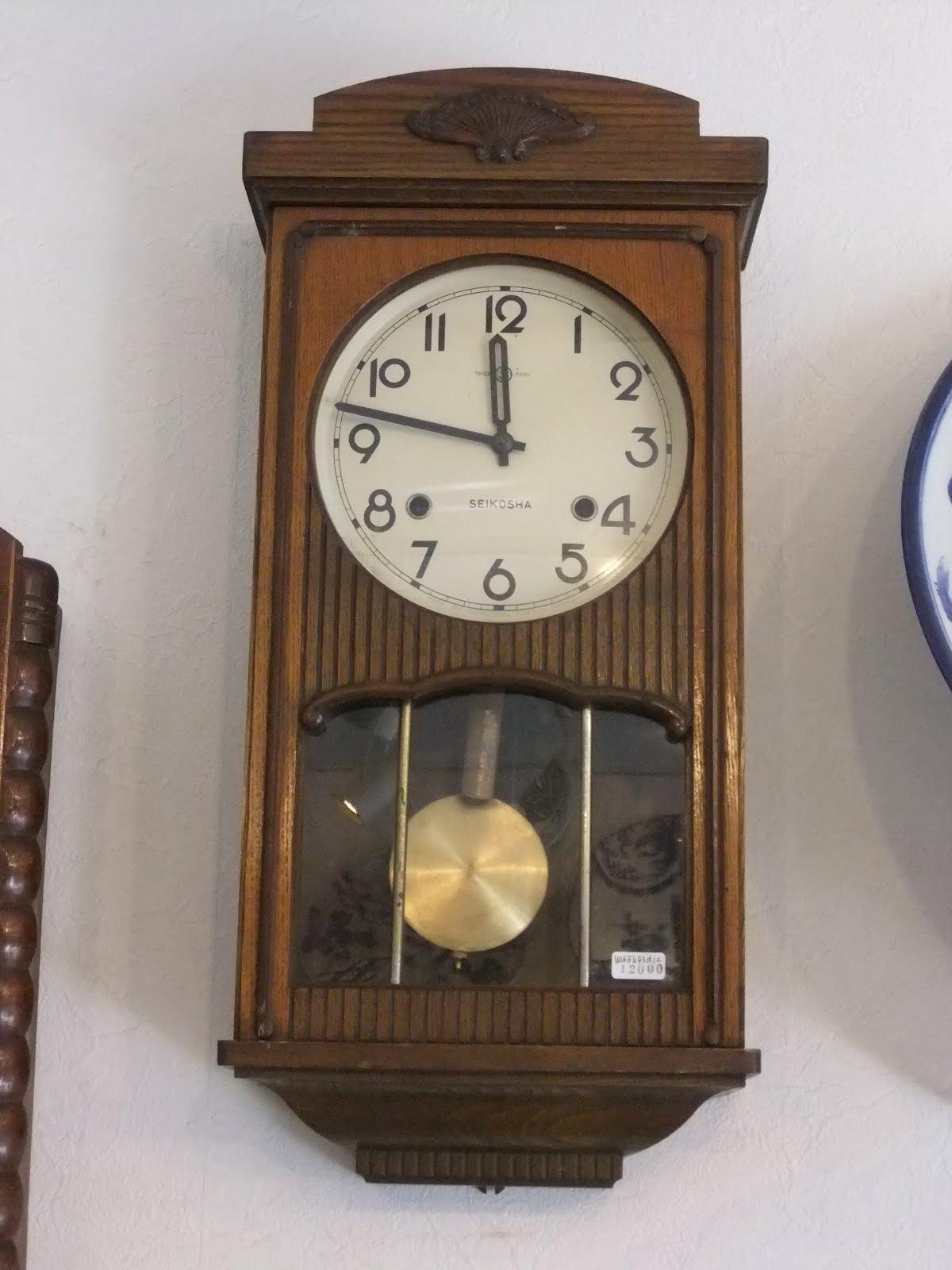 SEIKOSHA掛け時計