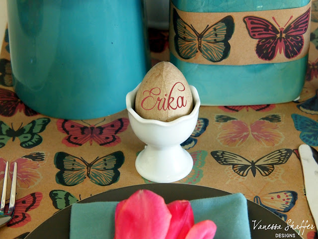 Use An Egg In Place Of A Place Card
