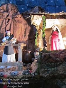 Diciembre - San José y la Virgen embarazada - Templo Santo Domingo - IV Semana de Adviento