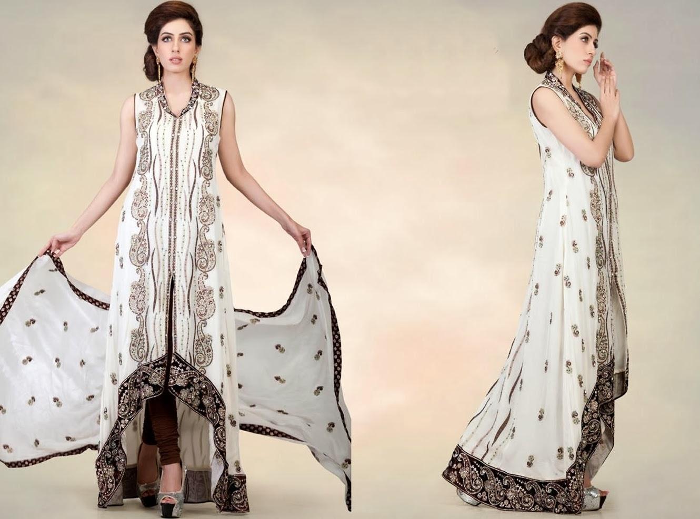 Double shirt dress design - Front Open Long Farasha Dresses 2014
